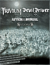 Trivium & DevilDriver with special guests After The Burial / Sylosis / Karin Comes Killing