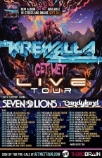 Get Wet Live Tour featuring Krewella, Seven Lions, Candyland With Local Support: Eddie P