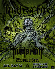 High On Fire & Kvelertak, Doomriders