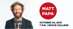 Matt Papa Look and Live Tour