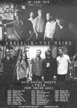 The Maine & Anberlin with special guests Lydia / From Indian Lakes