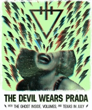 The Devil Wears Prada with The Ghost Inside / Volumes / Texas In July