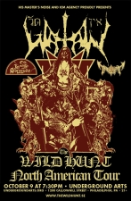 Watain with In Solitude & Tribulation
