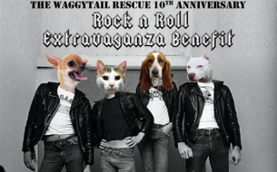 THE WAGGYTAIL RESCUE 10TH ANNIVERSARY BENEFIT featuring The A-Bones, Lenny Kaye (The Patti Smith Band), Andy Shernoff, Carla Rhodes & Many More!