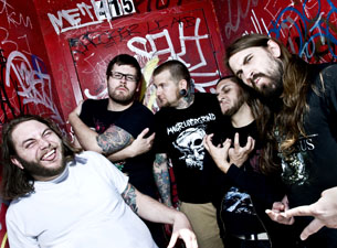 The Black Dahlia Murder with Beast in the Field plus Oceans of the Addict and Invoke the Nightmare