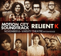 Motion City Soundtrack & Relient K plus Driver Friendly
