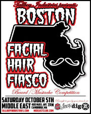 Boston Facial Hair Fiasco featuring Mellow Bravo / Cask Mouse / Tigerman WOAH / Black Thai
