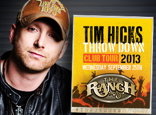 Tim Hicks Throw Down Tour