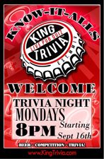 King Trivia Night