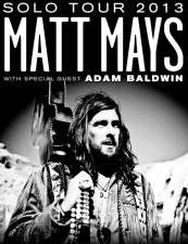 Matt Mays (solo & acoustic) with special guest Adam Baldwin