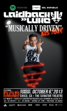 Laidback Luke- Musically Driven Bus Tour with D.O.D