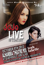 JoJo featuring Leah Labelle