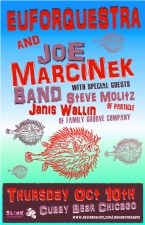 Euforquestra and Joe Marcinek Band, ft Steve Molitz of Particle plus GURG