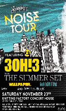 Journeys Noise Tour Featuring 3OH!3 featuring The Summer Set / Wallpaper / New Beat Fund, Weston Buck