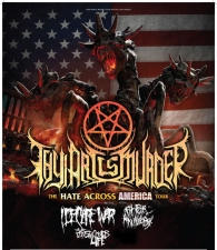 Thy Art Is Murder plus I Declare War / Fit for an Autopsy / The Last Ten Seconds Of Life