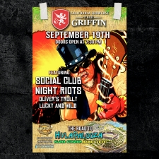 Social Club : Night Riots : Oliver Trolley