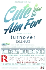 Cute Is What We Aim for featuring Turnover / Tallhart
