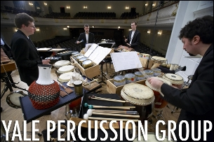 Yale Percussion Group plays David Lang and Steve Reich