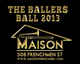 The Ballers Ball featuring Mannie Fresh and Rebirth Brass Band plus Boyfriend & The Lagniappe Brass Band
