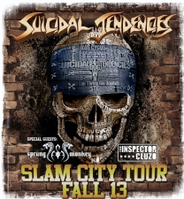 Suicidal Tendencies, Slam City Tour 2013