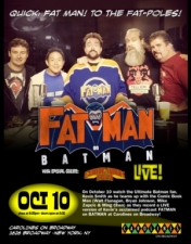 Kevin Smith's Fatman on Batman Live - with special guests: AMC's Comic Book Men (live podcast)