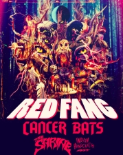 Red Fang with Cancer Bats, The Shrine & Indian Handcrafts