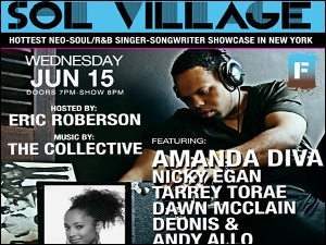 Sol Village featuring Hosted by Eric Roberson with music by The Collective