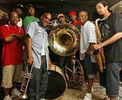 Plenty of Tickets available at venue for $40 cash only starting at 6pm/ REBIRTH BRASS BAND with special guests Brother Joscephus & the Love Revival Revolution Orchestra and Andrew Watt & the Dirty Touch