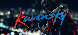 Kavinsky Live with Com Truise (DJ Set) and Sleepy & Boo