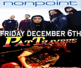Nonpoint plus Pat Travers