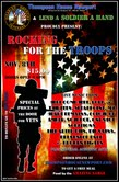 ROCKIN' FOR THE TROOPS! featuring Here Come Here / 5-Thirteen / Pope / Spearpoint / RPM / The Colour of Amber / Reason 420 / Soul Rot / My Heart Remains / Life After This / Curse of Cassandra / Broken Lights / Casey and the Nobodies / Jimmy Cash / Tangled Luck / Jason Owens / Beau Austin / Bryant Carter