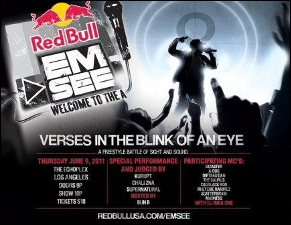 Redbull EMSEE:, A Freestyle Battle of Sight and Sound