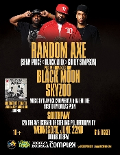 Random Axe (Sean Price X Black Milk X Guilty Simpson) featuring Black Moon, Skyzoo & DJ Evil Dee