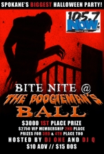 Bite Night @ The Boogieman's Ball featuring Hosted by DJ One & Q
