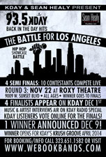 93.5Kday Battle for Los Angeles featuring 7th LTR, Dream Chase Collective, Mack, Ms Haze, Joey Supratta, Izu Osirus & Special Guest W.C. (Dub-C)
