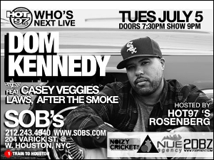 Dom Kennedy featuring Casey Veggies & Laws