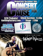 94.9 The River Concert For Cause featuring Tyrone Wells, Steven McMorran (of Satellite)