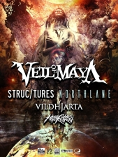 Veil of Maya with Structures / Northlane / Vildhajarta / Here Comes the Kraken