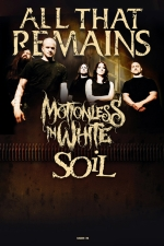 All That Remains featuring Motionless In White / Soil / Helldorado