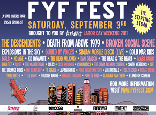 FYF Fest featuring brought to you by Altamont