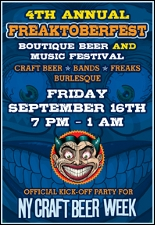 4th Annual FREAKTOBERFEST Boutique Beer and Music Festival