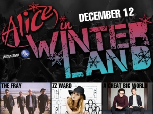 Alice In Winterland featuring The Fray / ZZ Ward / Rachel James