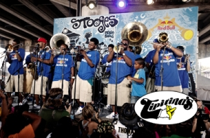 Stooges Brass Band, + The Original Pinettes Brass Band