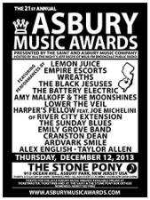 The 21st ANNUAL ASBURY MUSIC AWARDS plus SEE POSTER FOR DETAILS and go to ASBURYMUSICAWARDS.com for performer list