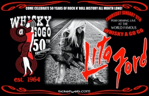 Whisky a go go's 50th ANNIVERSARY CELEBRATION with Lita Ford
