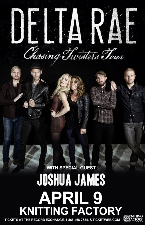 Delta Rae, Joshua James