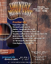 Country Music Fest starring Chris Higbee featuring Next of Kin / House of Cards / Caliber / Broken Road / Tony Rio & the Relentless / Melissa Higbee / Scott Blasey / Joe Matakowski