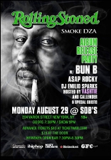 Smoke Dza 'ROLLING STONED' ALBUM RELEASE PARTY with Special guests: Bun B, ASAP Rocky