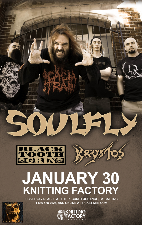 Soulfly featuring Black Tooth Grin / Krystos
