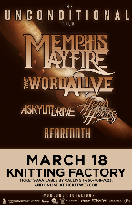 Memphis May Fire, The Word Alive, A Skylit Drive, Hands Like Houses, Beartooth